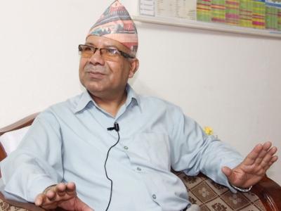 एमाओवादी वेवास्ता गर्न नमिल्ने इभिल फोर्स हो-माधव नेपाल