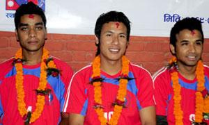 राष्ट्रिय टीमका कप्तानसहित ३ खेलाडी फ्रेन्ड्स क्लबमा