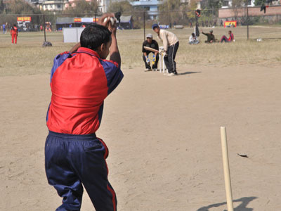 विश्वकप तयारी गर्न दृष्टिविहिन क्रिकेटरलाई मैदान अभाव
