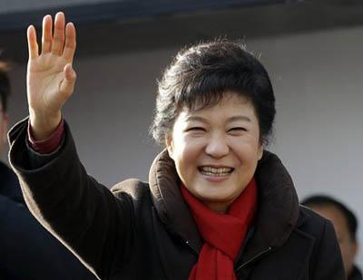 दक्षिण कोरियामा पहिलो महिला राष्ट्रपति