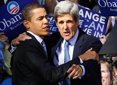 ओबामाद्वारा सिनेटर केरीलाई विदेशमन्त्रीको रूपमा चयन