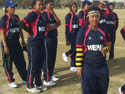 एसीसी महिला क्रिकेटमा नेपाल तेस्रो