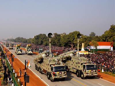 भारतमा गणतन्त्र दिवस, मिसाइल प्रदर्शन (फोटो फिचर)