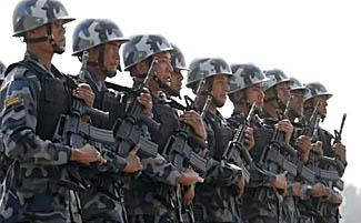 क्षेत्राधिकार मिच्दै सशस्त्र प्रहरी
