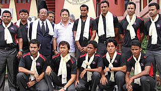इमर्जिङ कप खेल्ने क्रिकेट टोली श्रीलंकातर्फ