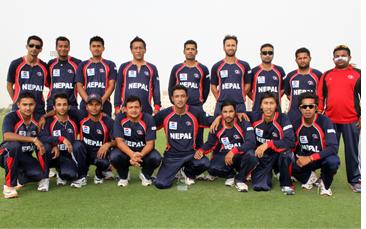 नेपाल विश्वकप छनोटको सेमिफाइनल खेल्दै