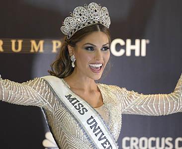 भेनेजुएलाकी सुन्दरी बनिन् मिस युनिभर्स