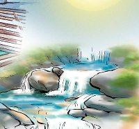१३५ किलोवाटको लघु जलविद्युत् बन्द