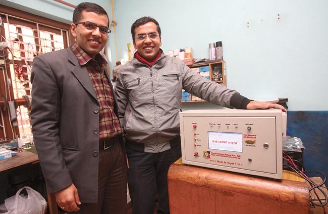 नेपाली वैज्ञानिकको आविष्कार सुरक्षा साइरन