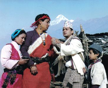अल्मलिएको नेपाली चलचित्र