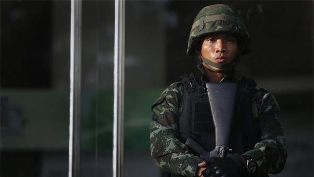 थाईल्याण्डमा सेनाको 'मार्शल ल'