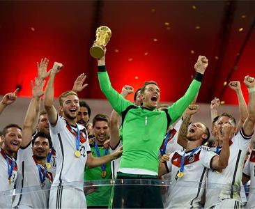 जर्मनीलाई विश्वकप २०१४ को उपाधि