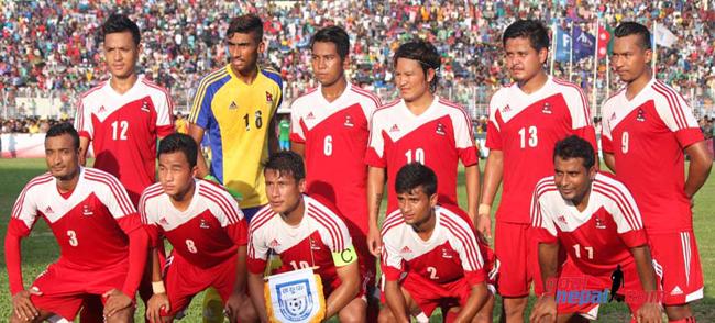 एशियाली खेलकुदको फूटबलमा नेपाल पराजित