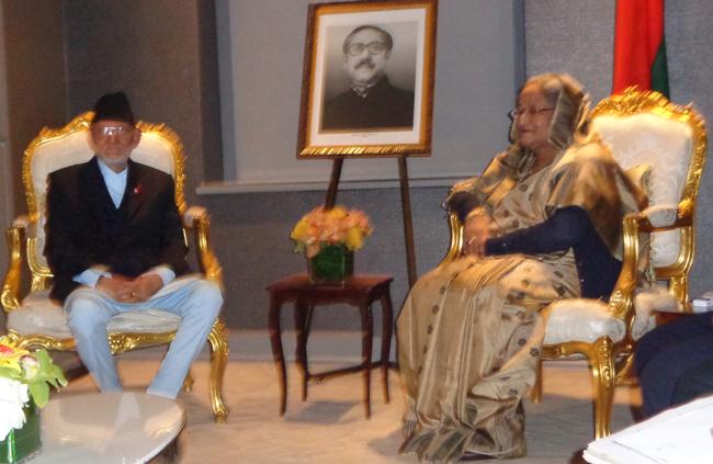 प्रधानमन्त्री कोइरालाद्वारा बंगलादेश र पाकिस्तानी प्रधानमन्त्रीसँग भेटवार्ता