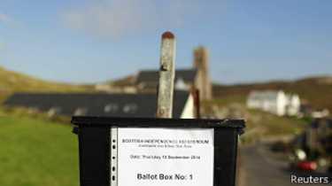 स्कटल्याण्डको जनमतसंग्रहमा मतदान शुरु