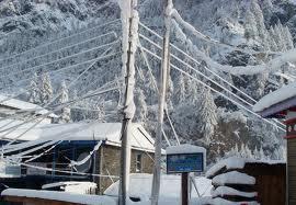 दामनमा हिमपात