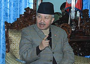 संविधान बनाउन बैठक अवरुद्ध हैन क्रियाशिल पार्नु पर्छः सभाध्यक्ष नेम्वाङ