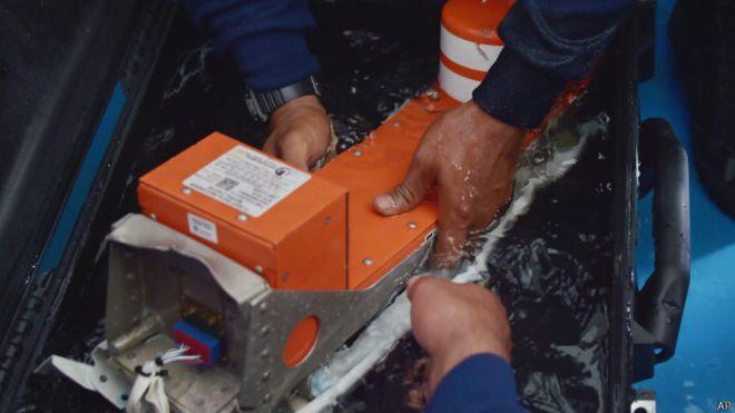 दुर्घटनामा परेको विमानको भ्वाइस रिकर्डर भेटियो