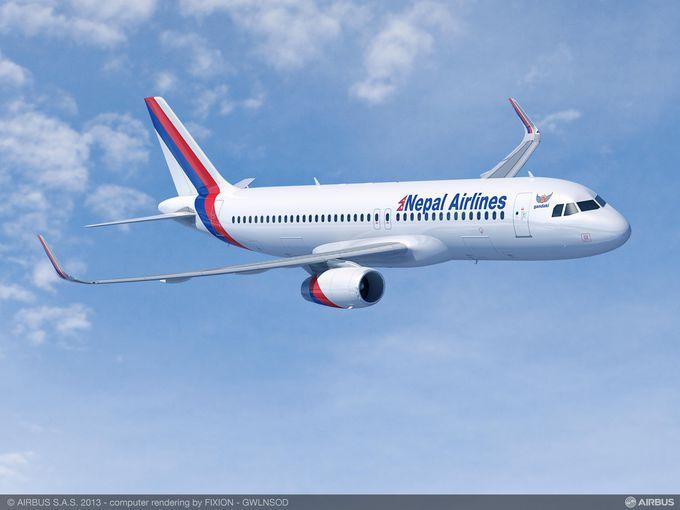 अाइपुग्यो नयाँ विमान एयरबस-३२०