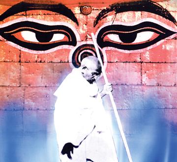 नेपाली सन्दर्भमा गान्धी