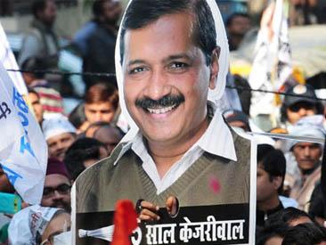 दिल्लीः आपलाई अभूतपूर्व सफलता,  आप– ६७, भाजपा– ३
