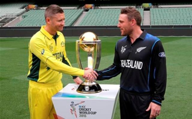 विश्वकप क्रिकेटः च्याम्पियन बन्ने होडमा अष्ट्रेलिया र न्यूजिल्याण्ड