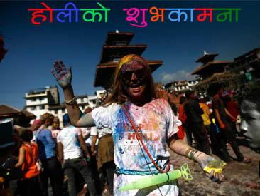 काठमाडौंमा होली (फोटो फिचर)