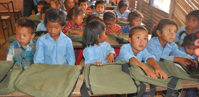 हास्यकलाकारहरूले स्कूल बनाइदिएपछि खुलेको विद्यालय