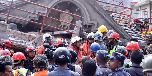 भूकम्पमा परी  ६७ जनाको मृत्यु (अपडेट)