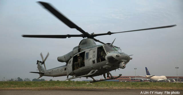 अमेरिकी हेलिकाेप्टर दुर्घटनाग्रस्त अवस्थामा फेला पर्याे