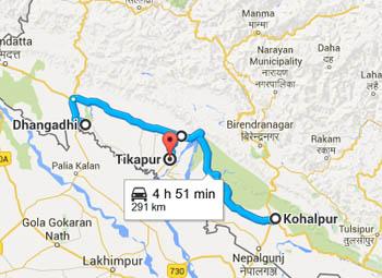 टीकापुर, धनगढी र कोहलपुरमा कर्फ्यू
