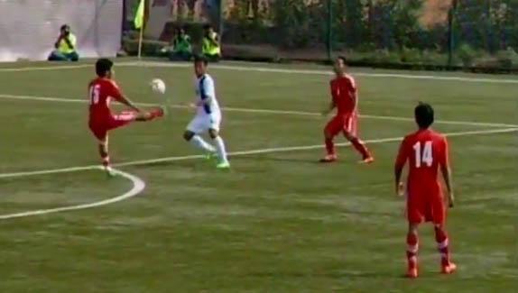 यु- १९ साफ:  नेपाल १-० ले अगाडि