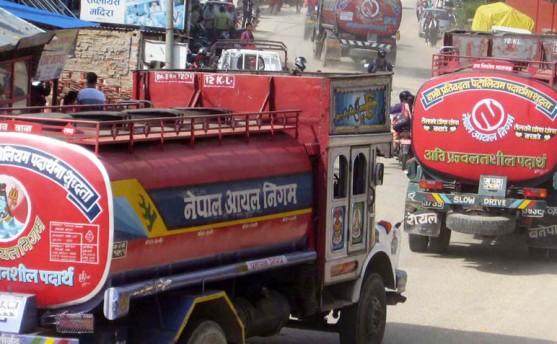 चीनले दिएकाे पेट्रोल शनिवार काठमाडौं आइपुग्ने