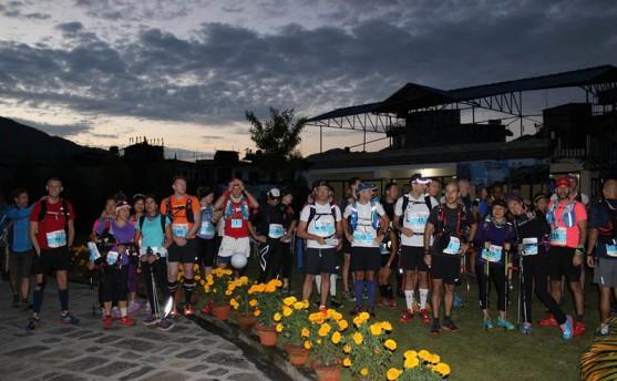 लमजुङमा अन्तर्राष्ट्रिय अल्ट्रा म्याराथन, २५ देशका धावक प्रतिस्पर्धा गर्दै
