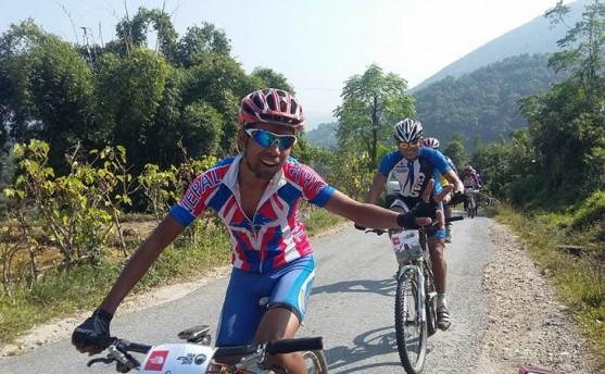याक अट्याक माउण्टेन बाईकमा अजय पण्डित विजयी