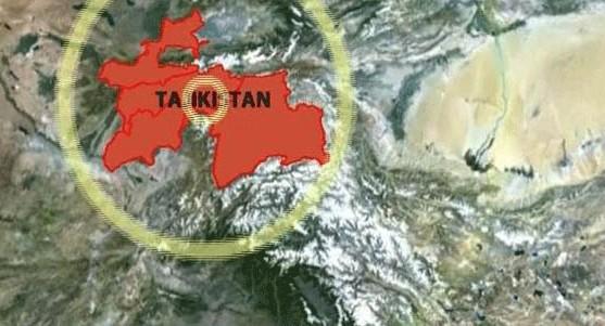 ताजिकिस्तानमा शक्तिशाली भूकम्प