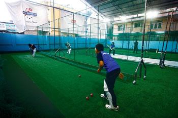 इन्डोर क्रिकेटको अवसर