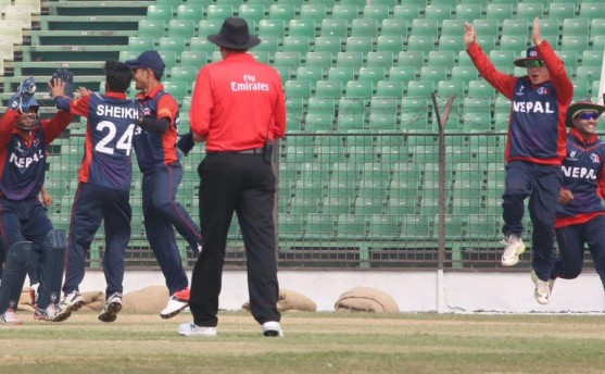 नेपाल बांग्लादेशद्वारा ६ विकेटले पराजित