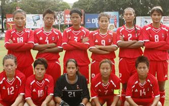 साग फुटबलः नेपाली महिला टोलीको दोस्रो जित
