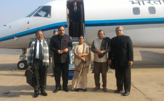 भारतीय विदेशमन्त्री स्वराज काठमाडौं आउँदै