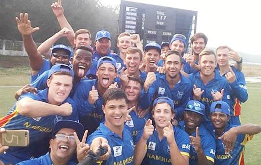 नामिबियाको राष्ट्रिय क्रिकेट टोली नेपालमा