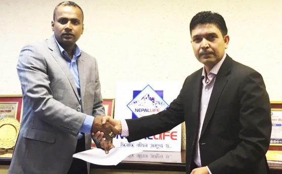नेपाल लाइफद्वारा सिद्धार्थ क्यापिटल नियुक्त
