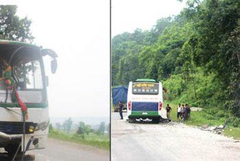 मकवानपुरमा बस दुर्घटना, ९ को मृत्यु