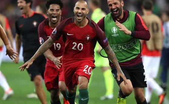 पोर्चुगल युरोकप २०१६ को सेमीफाइनलमा